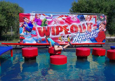 Wipeout acuático Xtreme Park