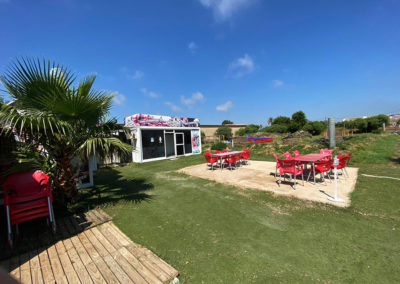 Zona de terraza Xtreme Park